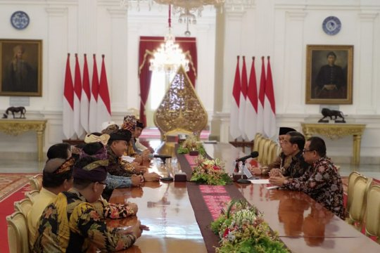 Presiden terima pengurus Parisada Hindu Dharma Indonesia