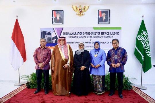 Menlu resmikan Gedung Pelayanan Publik Indonesia di luar negeri
