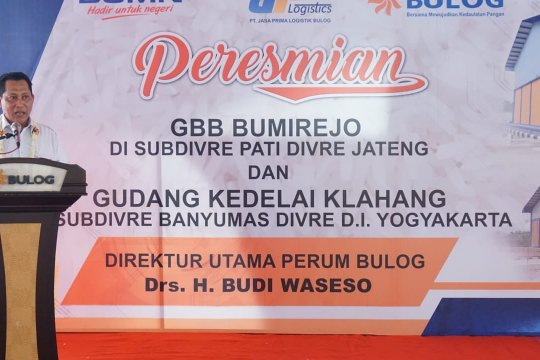 Bulog tambah dua gudang baru di Jawa Tengah