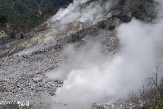 Aktivitas gempa di Gunung Salak masih normal