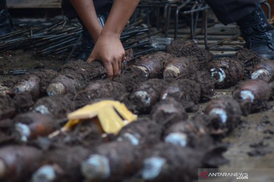 Dandim: Mortir di Dago diduga peninggalan Perang Dunia Kedua