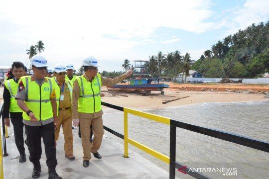 Gubernur Kalbar harapkan pembangunan Pelabuhan Internasional  Kijing selesai tepat waktu