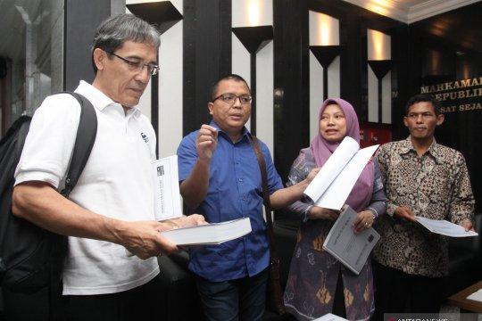 Pendaftaran uji materi UU Pemilu