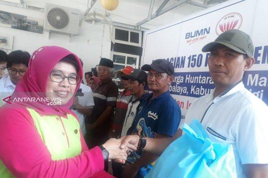 IIP BUMN beri korban likuifaksi Sibalaya Selatan-Sigi 150 paket sembako
