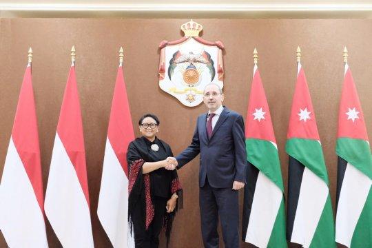 Indonesia-Yordania dorong kerja sama dukung perjuangan Palestina