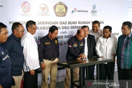 Pemkab Deliserdang minta penambahan jaringan gas