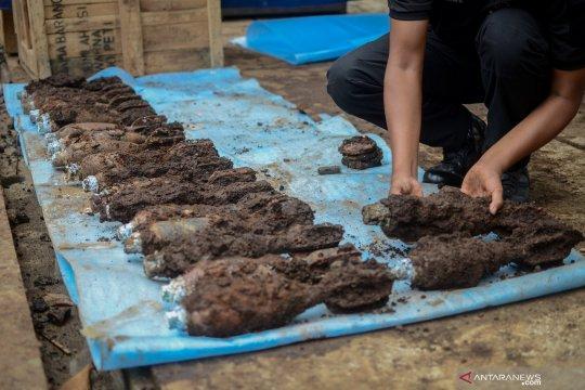 Temuan mortir PD II di Dago Bandung bertambah jadi 108 buah