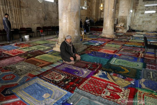 Polisi Israel serang jemaah Masjid Al-Aqsha