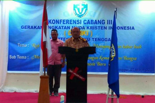 Wakil Bupati buka Konfercab III GAMKI Malra