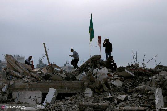 Warga Palestina cedera selama bentrokan di Ramallah