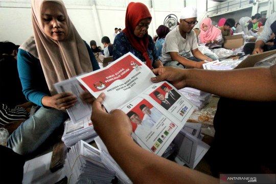 KIP Aceh Besar libatkan 200 orang lipat surat suara pemilu