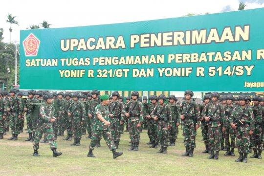 Prajurit TNI tangani Trans Papua segera tiba di Timika