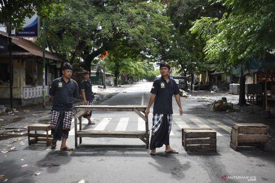 Suasana Nyepi di Lombok