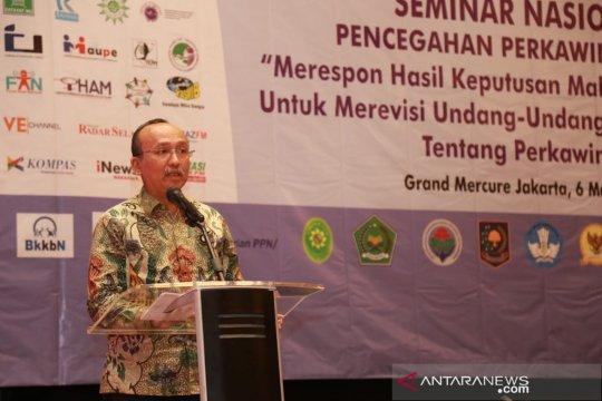KPPPA sebut perkawinan anak ancaman bagi ketahanan nasional