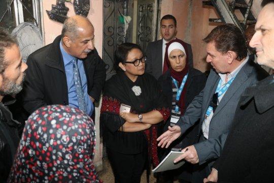 Menlu RI kunjungi kamp pengungsi Palestina di Yordania