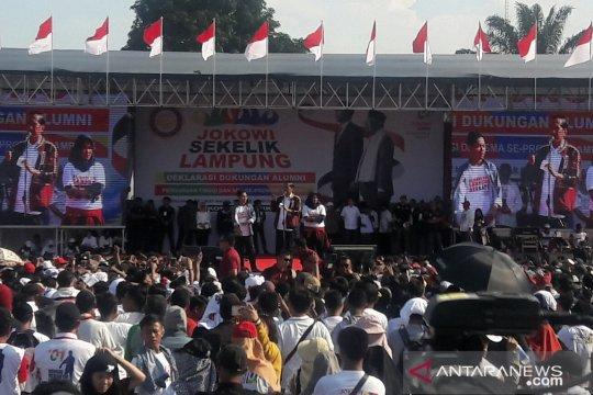Jokowi ajak masyarakat klarifikasi hoaks dalam deklarasi Lampung Bersatu