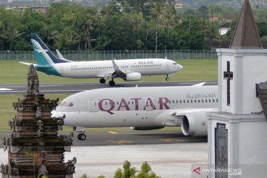 Bandara Ngurah Rai beroperasi normal pascaerupsi Gunung Agung