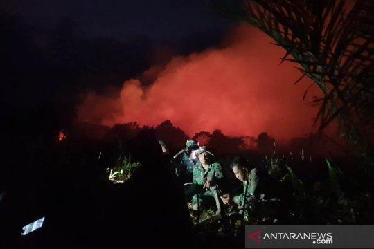 BPBD sebutkan 900 meter lahan gambut Aceh Barat terbakar