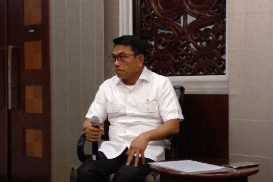 Moeldoko katakan jabatan TNI aktif di kementerian hanya sementara