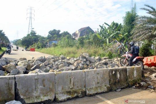 Penutupan jalan R3 Bogor