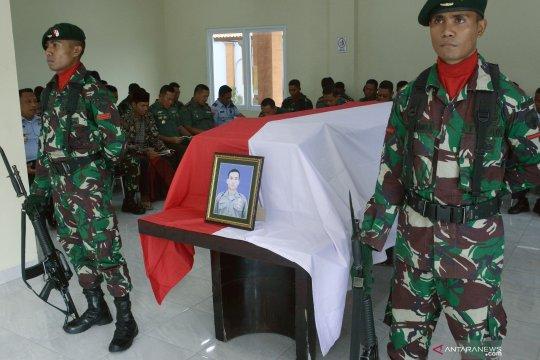 Jenazah TNI korban KKB Nduga