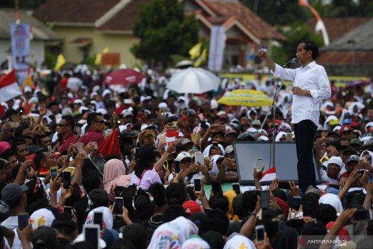 Jokowi hadiri deklarasi petani dan nelayan Lampung