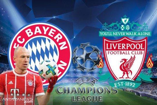 Hadapi Liverpool di leg kedua, Bayern Munchen kembali tanpa Robben