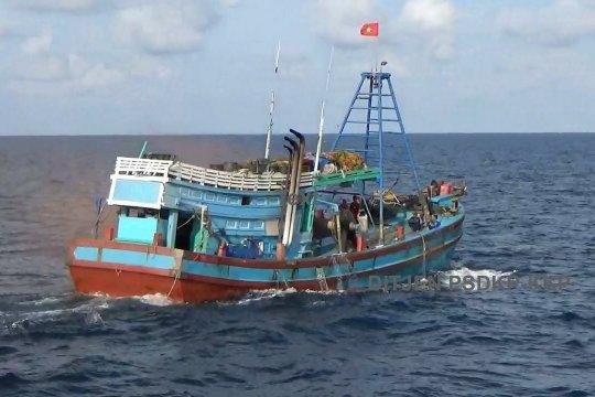 KKP tangkap satu kapal ikan ilegal berbendera Vietnam