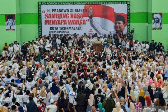 Kampanye Prabowo di Tasikmalaya