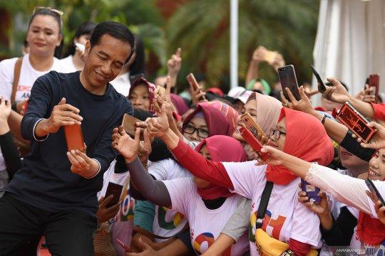 """Tim Kampanye Daerah Sumatera Selatan nyatakan siap """"door-to-door"""" menangkan Jokowi"""