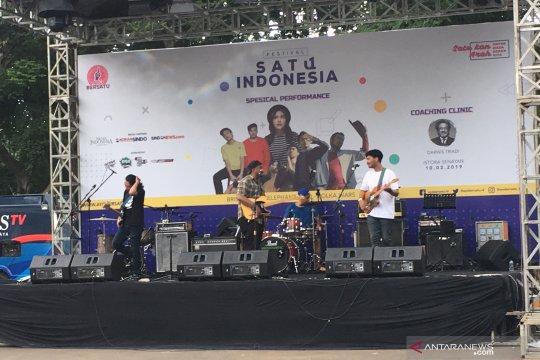 Festival Satu Indonesia ajak kenali politik lewat musik