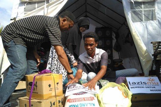 Lazismu bantu korban kebakaran rumah di Aceh Barat