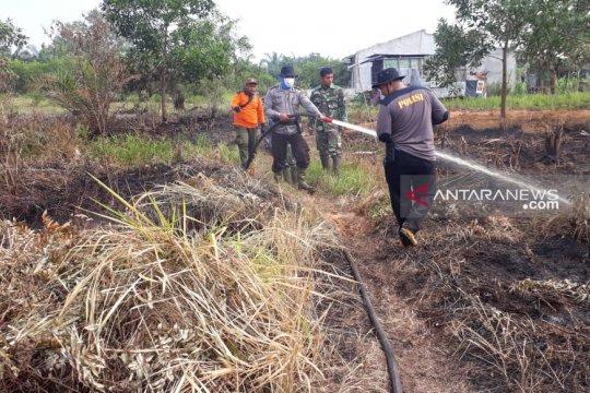 Luas kebakaran hutan dan lahan di Riau 1.761 hektare