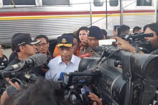 KRL sudah beroperasi kembali, Menhub apresiasi lancarnya evakuasi