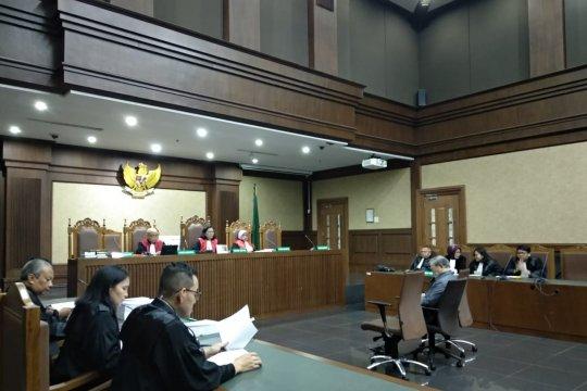Pengusaha dituntut 7 tahun penjara karena suap hakim Medan