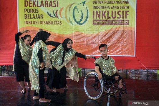 Deklarasi kader poros belajar inklusi disabilitas