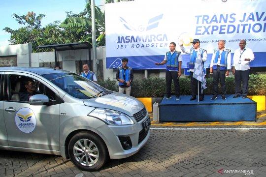 Calon karyawan ruas tol Trans Jawa