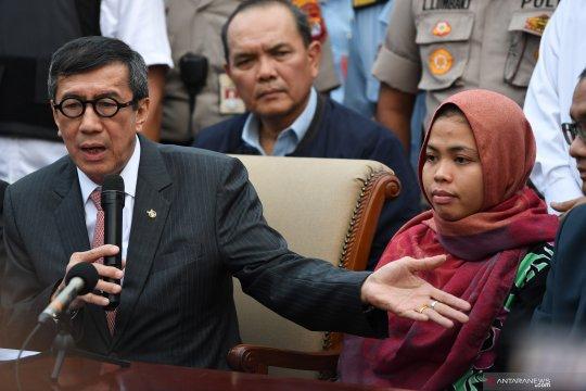 Siti Aisyah bebas