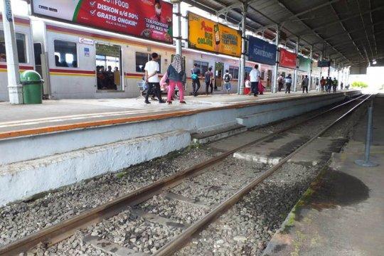 KCI: Jalur KRL Cilebut-Bogor kembali normal
