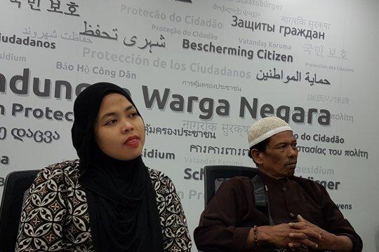 Selama ditahan Malaysia, Siti Aisyah rindukan anak semata wayang