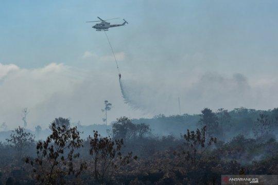 Pangkalan TNI AU SMH Palembang akan kirim dua helikopter ke Riau