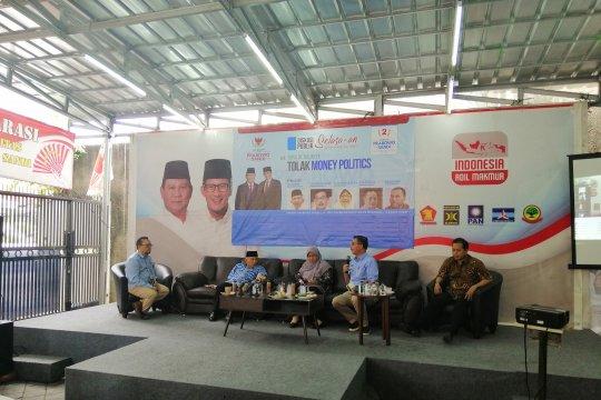 Kubu Prabowo-Sandi katakan Bawaslu tidak tindaklanjuti politik uang