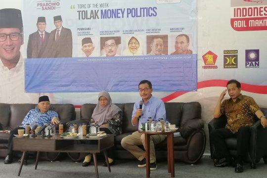 "Amien Rais ingatkan masyarakat waspadai ""money politics"""