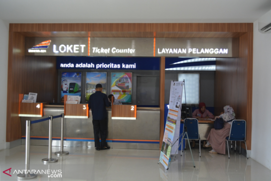 Penjualan tiket lebaran Daop 8 Surabaya capai 45 persen