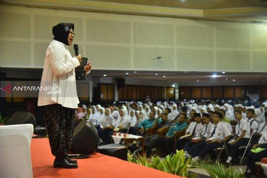Ribuan pelajar SMP NU se-Surabaya diberikan pembinaan karakter