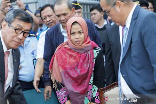 Joko Widodo bebaskan Siti Aisyah dapat pujian