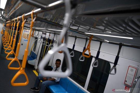 Uji coba publik pengoperasian MRT