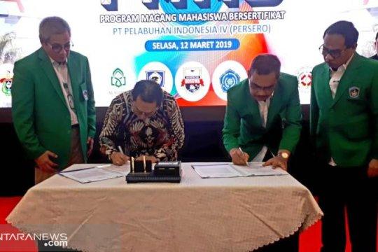UMI-PT Pelindo kerja sama program mahasiswa bersertifikat