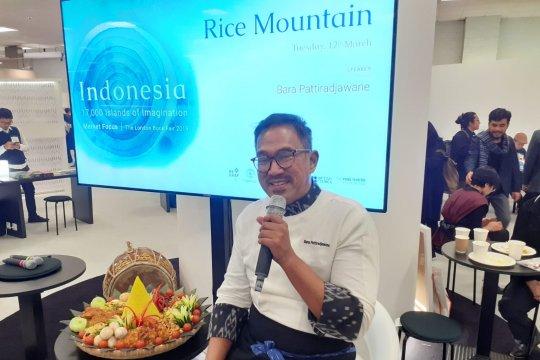 Chef Bara Pattiradjawane memopulerkan kuliner nusantara