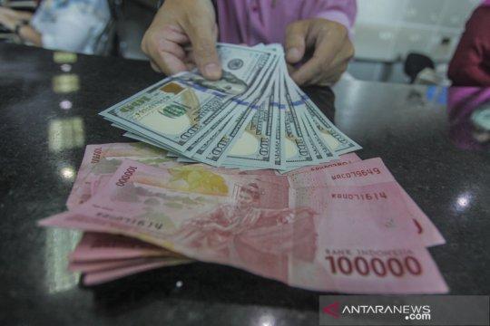 Kurs rupiah Jumat pagi merosot 20 poin terhadap dolar